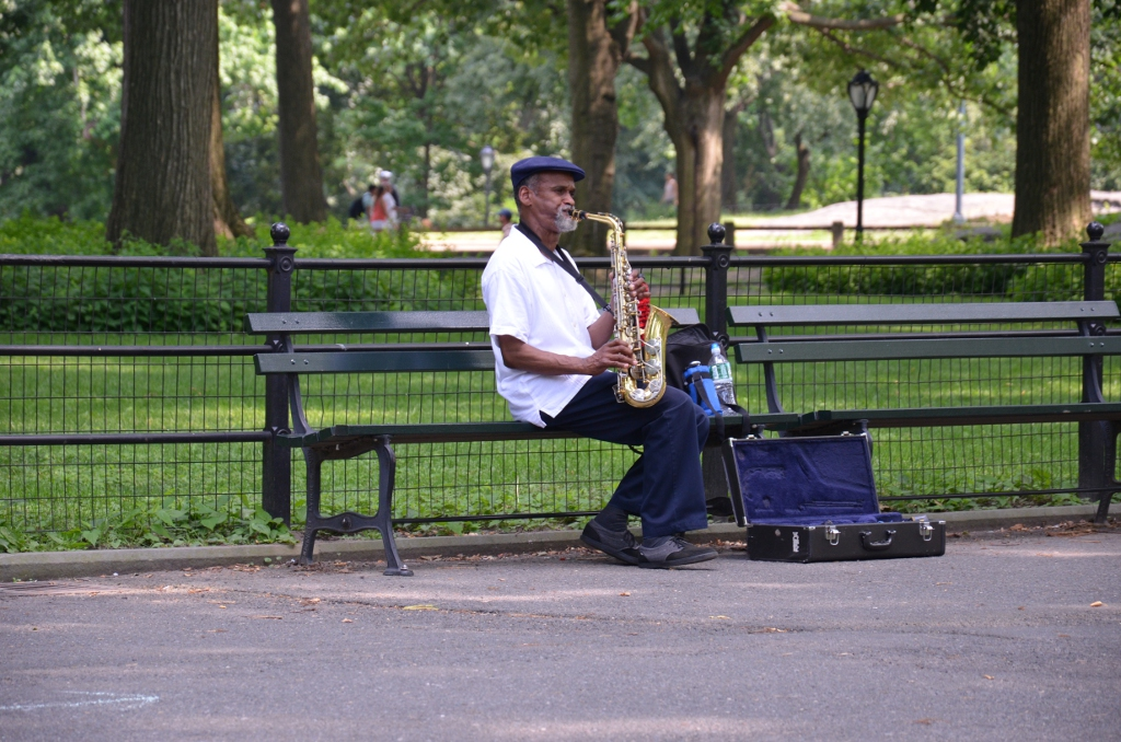 Central Park - Musician