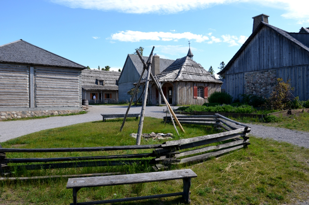 Fort Michilimackinac Hof