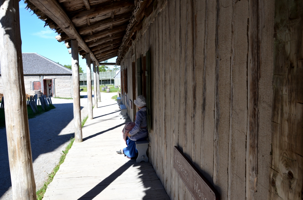 Fort Michilimackinac Streetlife