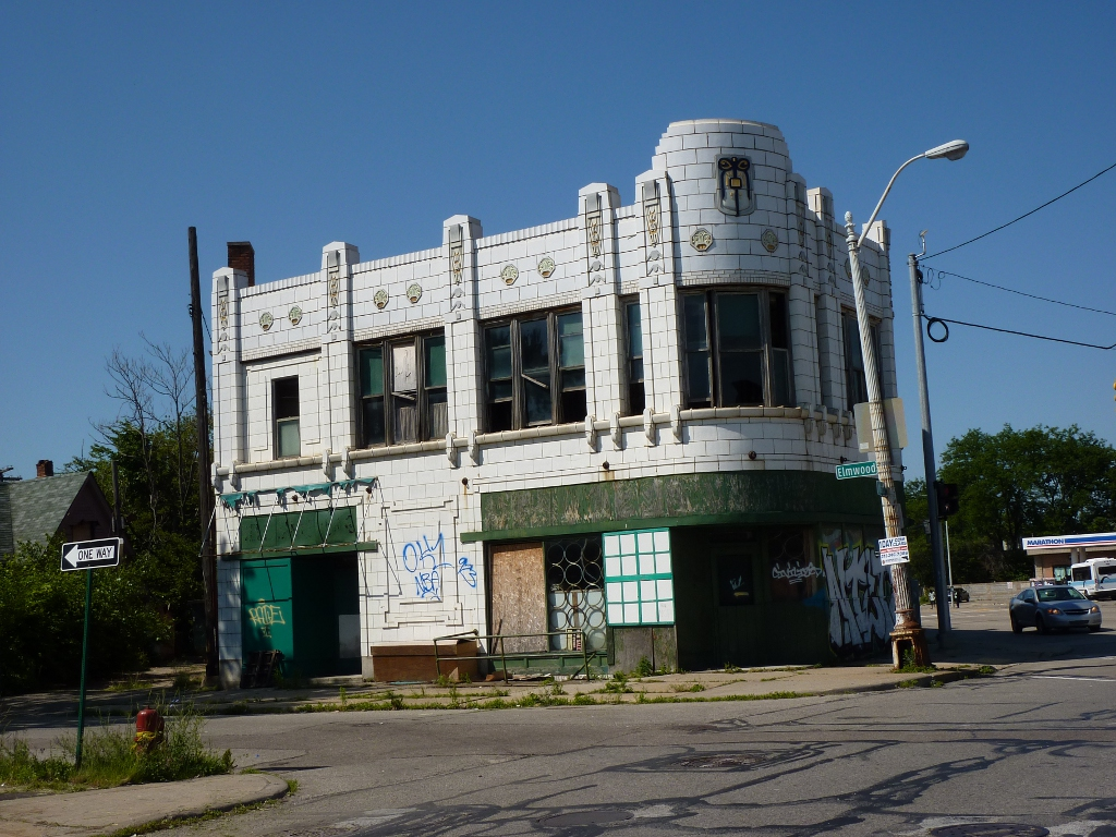 Left Building - Detroit