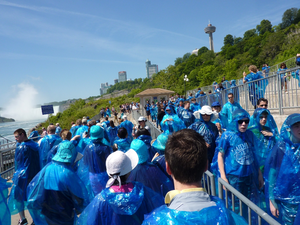 Maid of the Mist - Schlange stehen