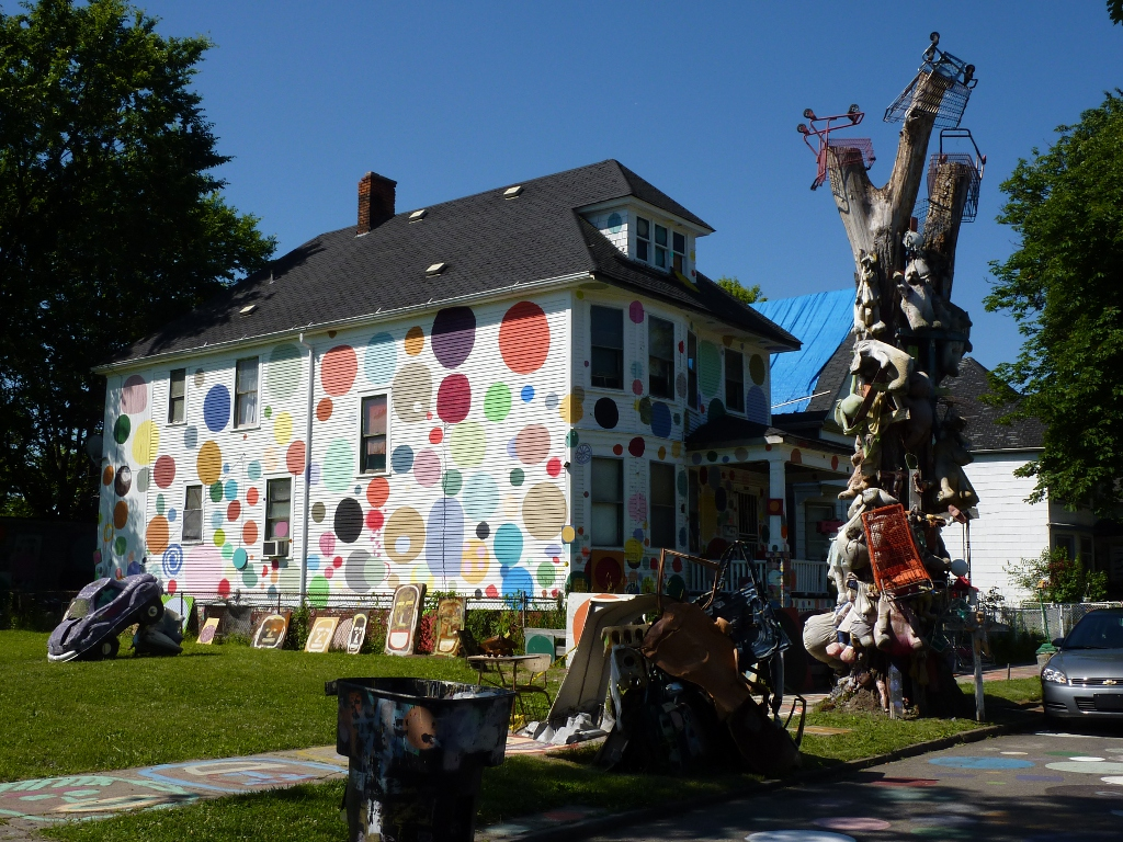 Polka Dot House - Detroit