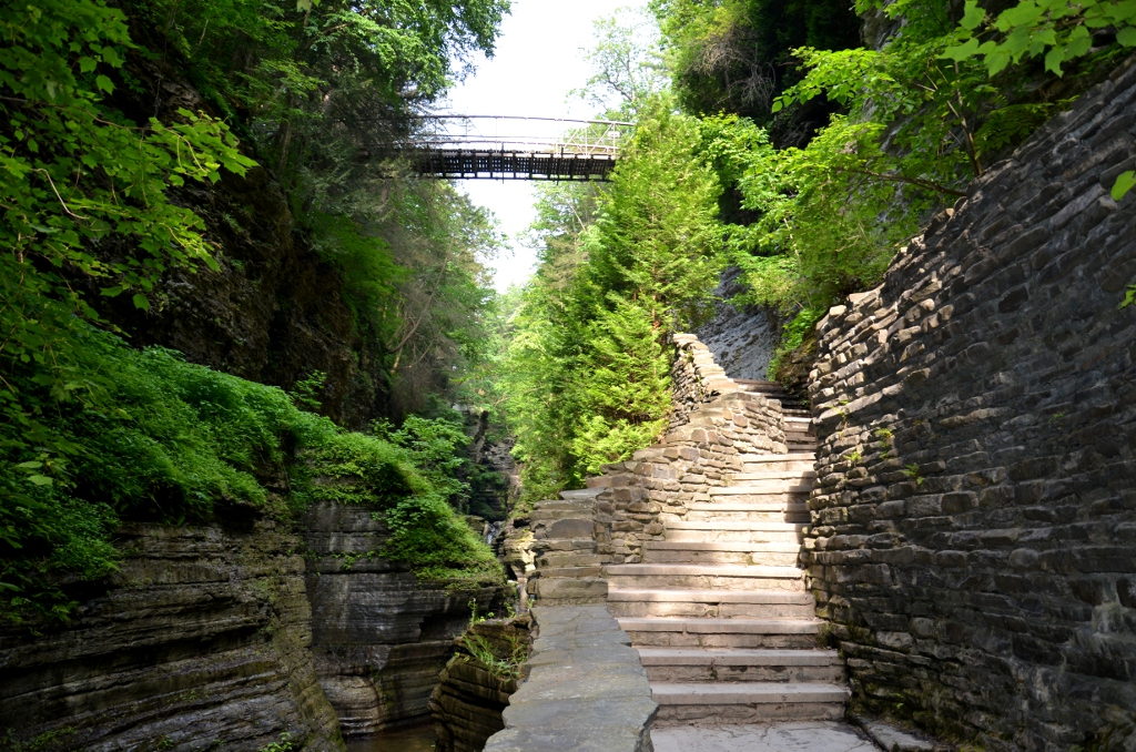 Watkins Glen State Park - Rim Bridge