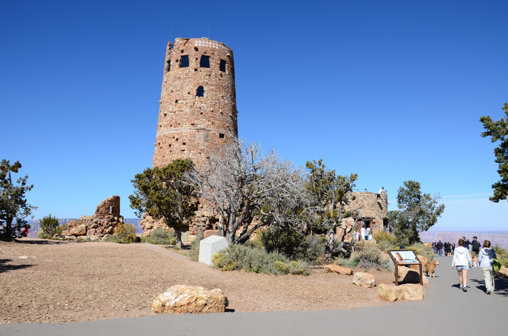 Grand Canyon - Desert View Tower