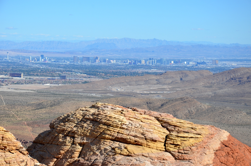 Red Rock Canyon - Las Vegas Overlook