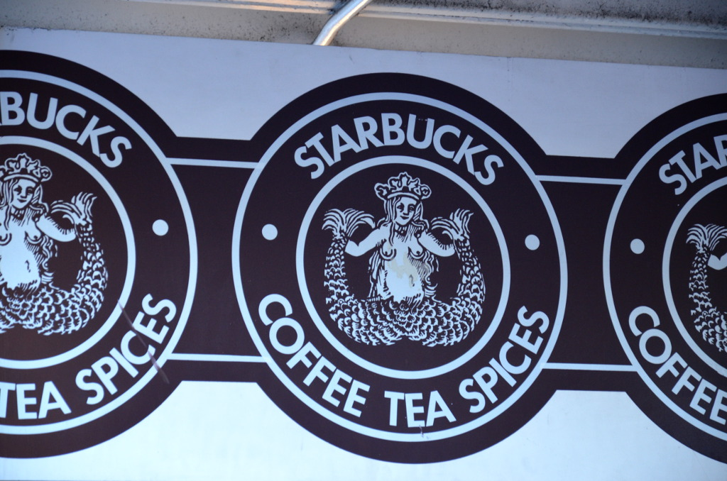 Seattle First Starbucks Logo