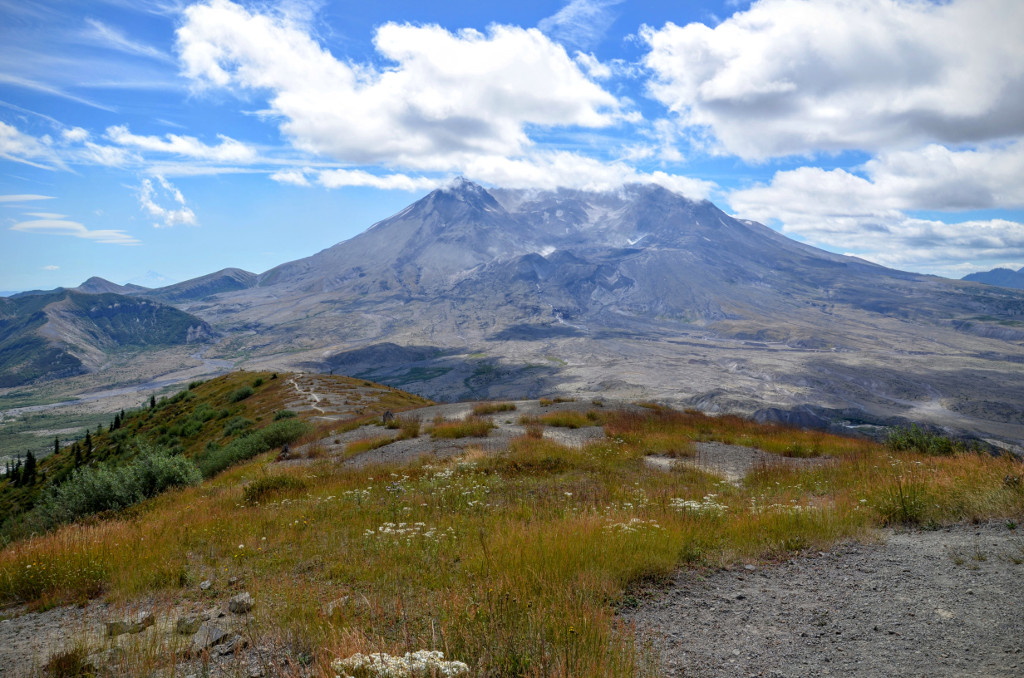 Mt St Helens Crater