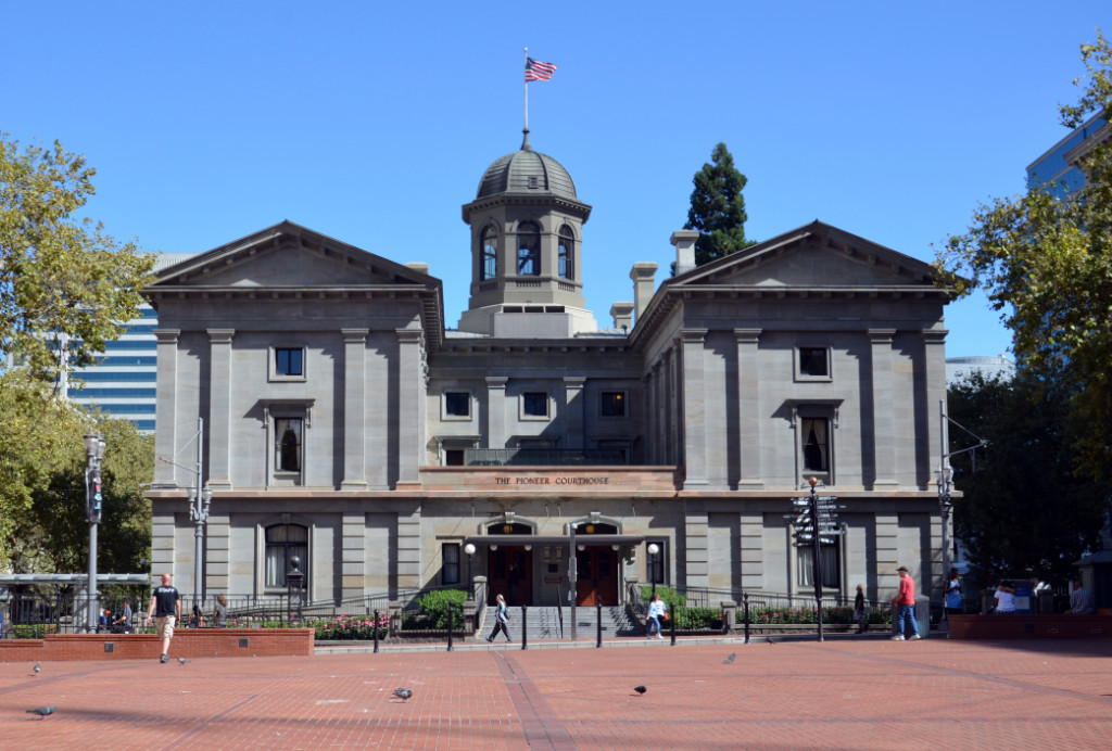 Portland - Pioneer Courthouse