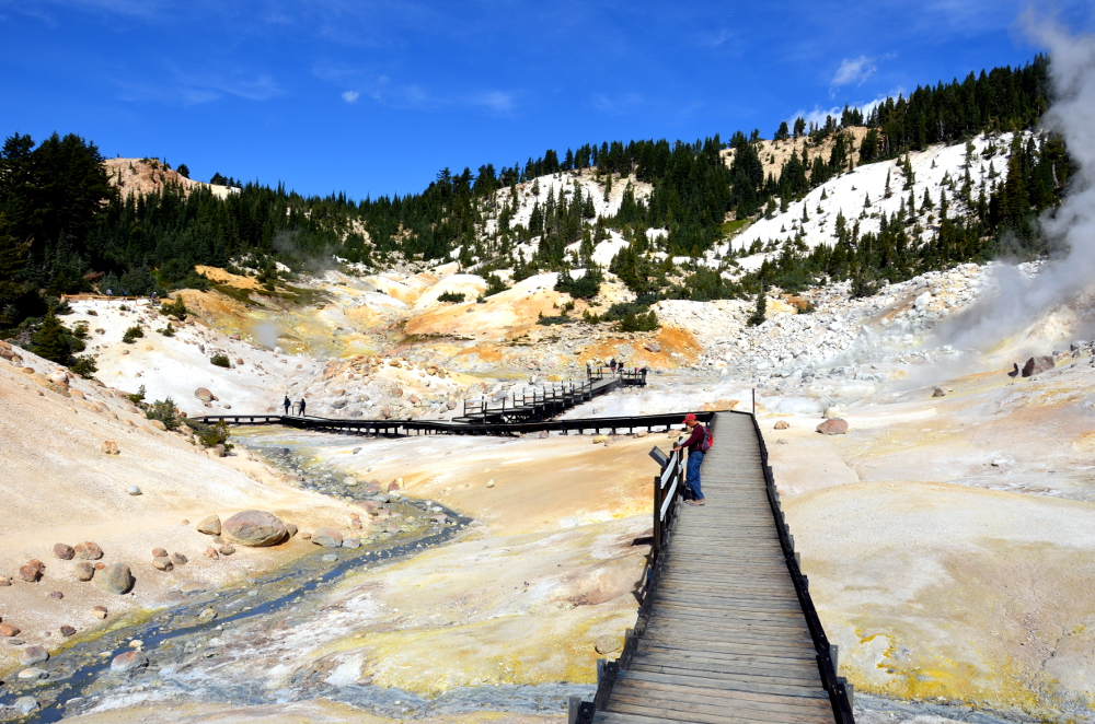 Bumpass Hell Boardwalk