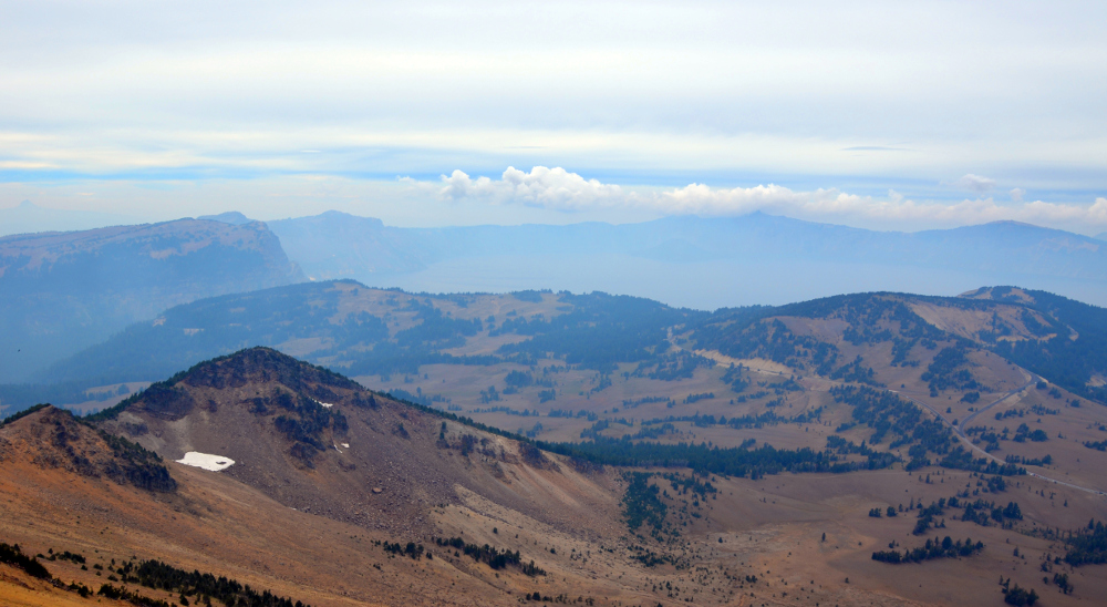 Crater Lake View - Mt Scott