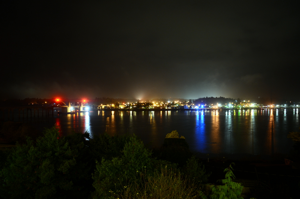 Florence Oregon by Night