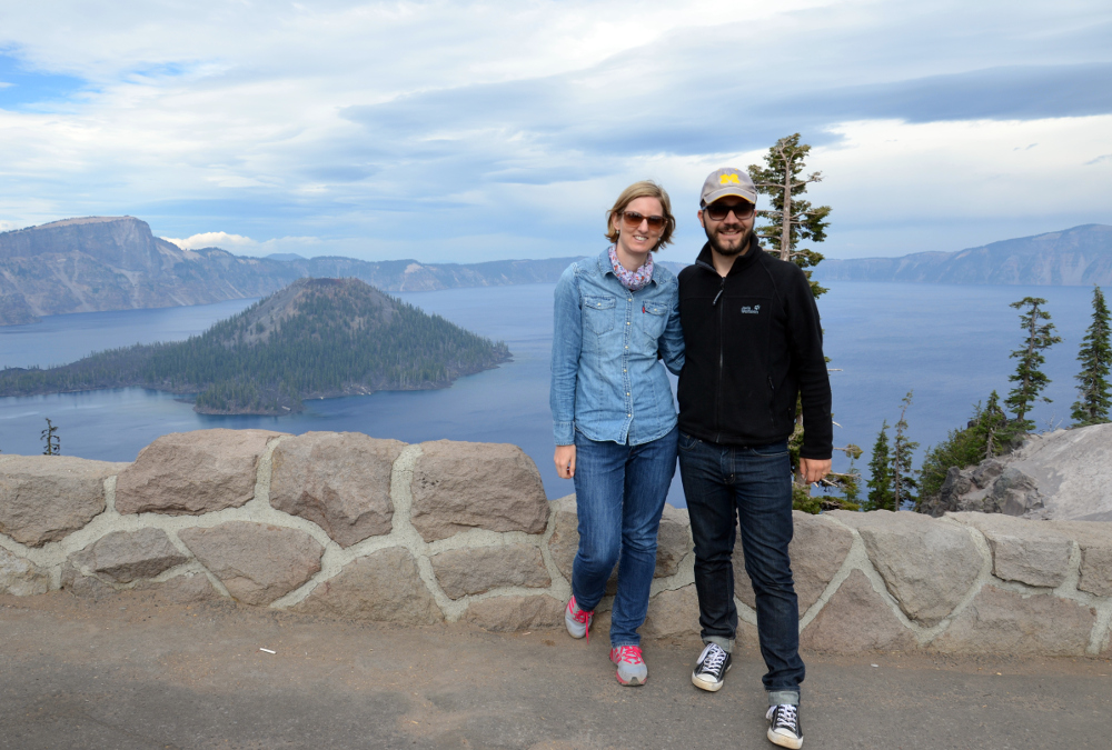 Kathrin & Simon - Crater Lake NP