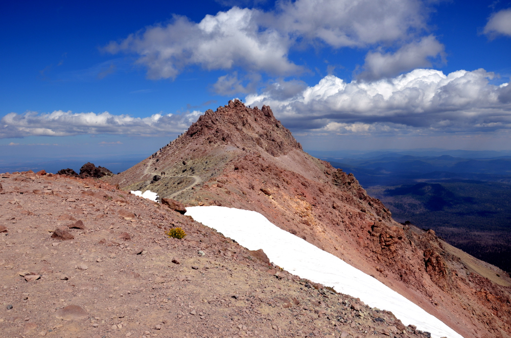 On Top of Lassen Peak