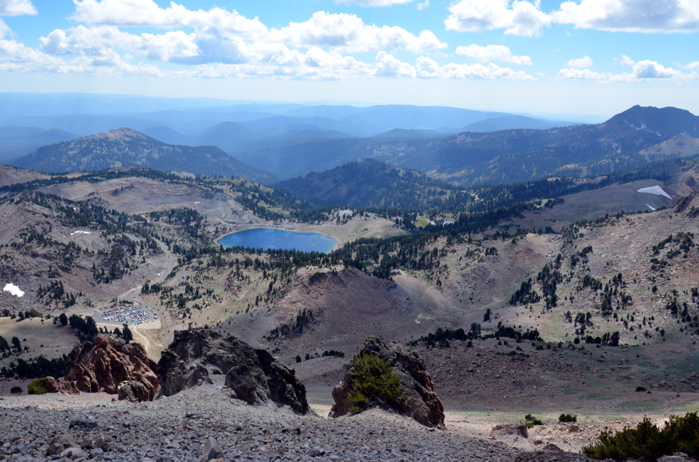 Panorama from Lassen Peak