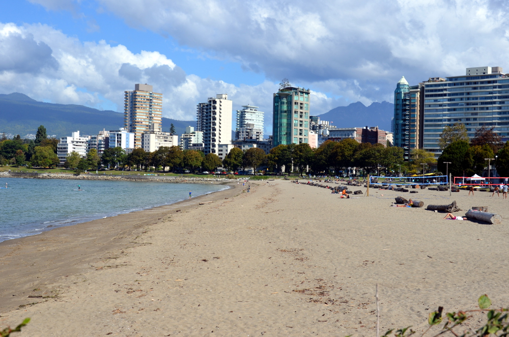 English Bay Beach Vancouver